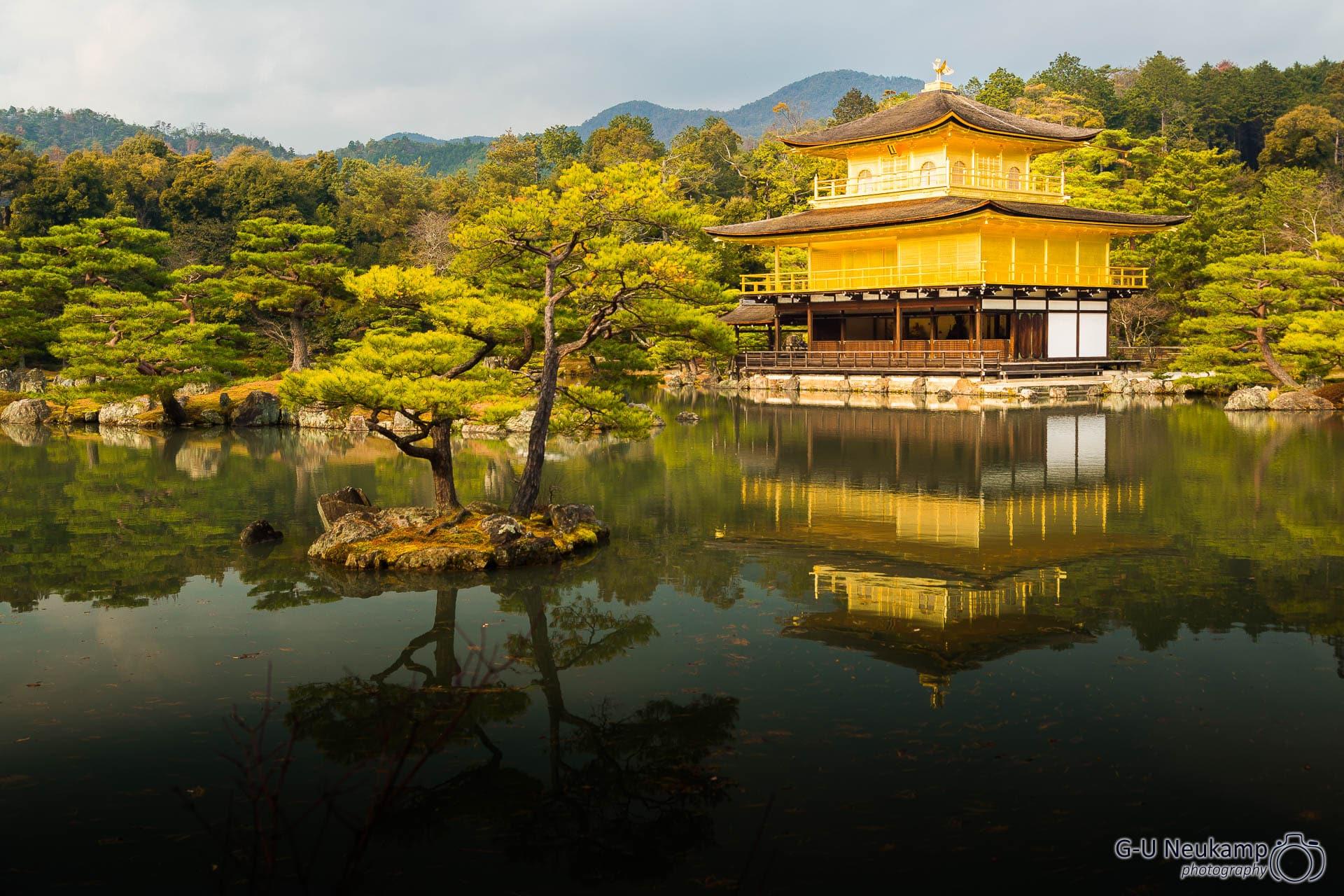 Der goldene Pavillon Tempel