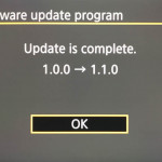 First firmware update for the Canon EOS R5 available