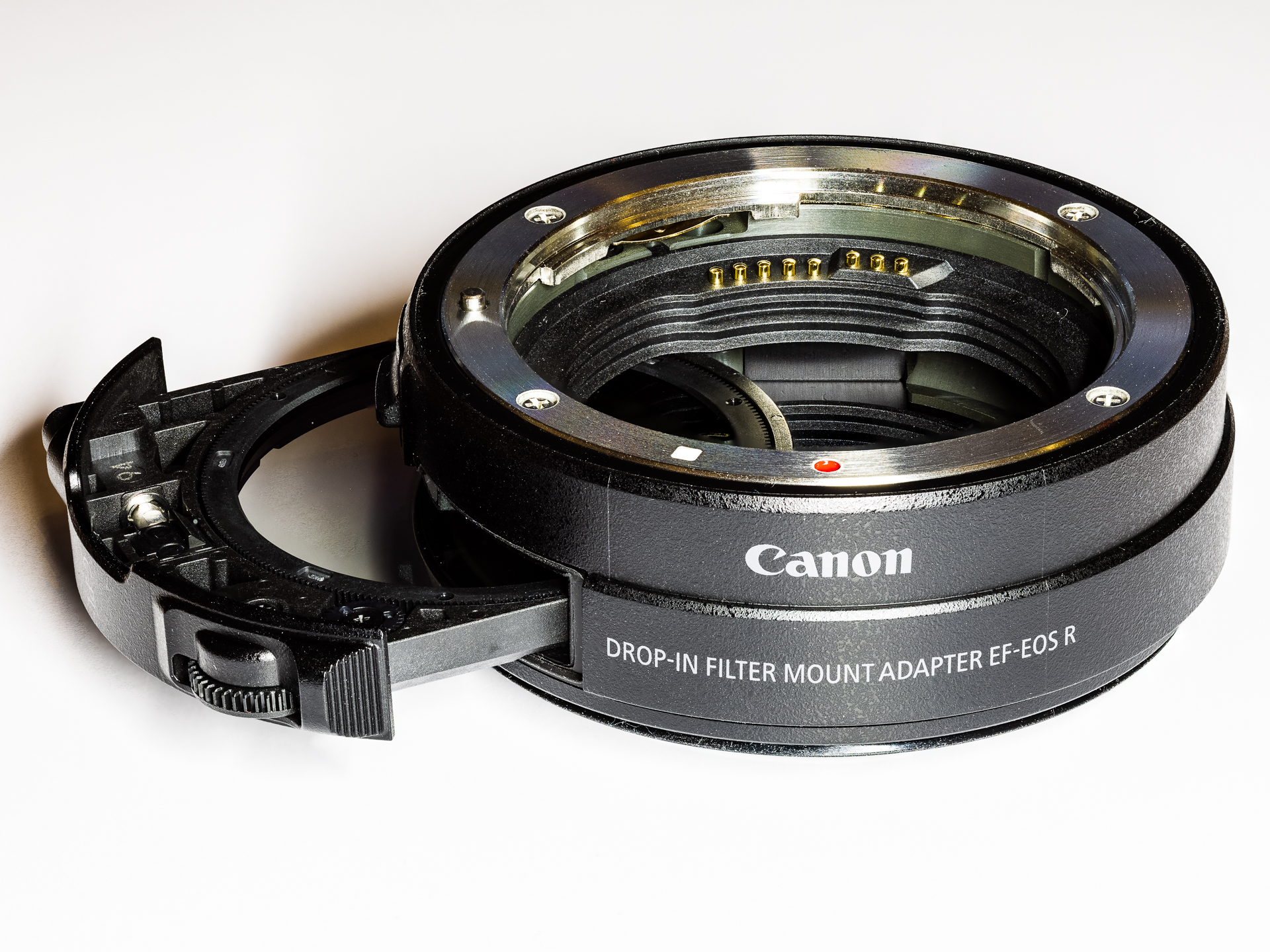Drop-In Filter Mount Adapter EF-EOS R with C-PL Polfilter