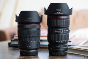 Comparison of the Canon RF 24-105 f/4L with the EF 24-70 f/2.8L II on the EOS R5