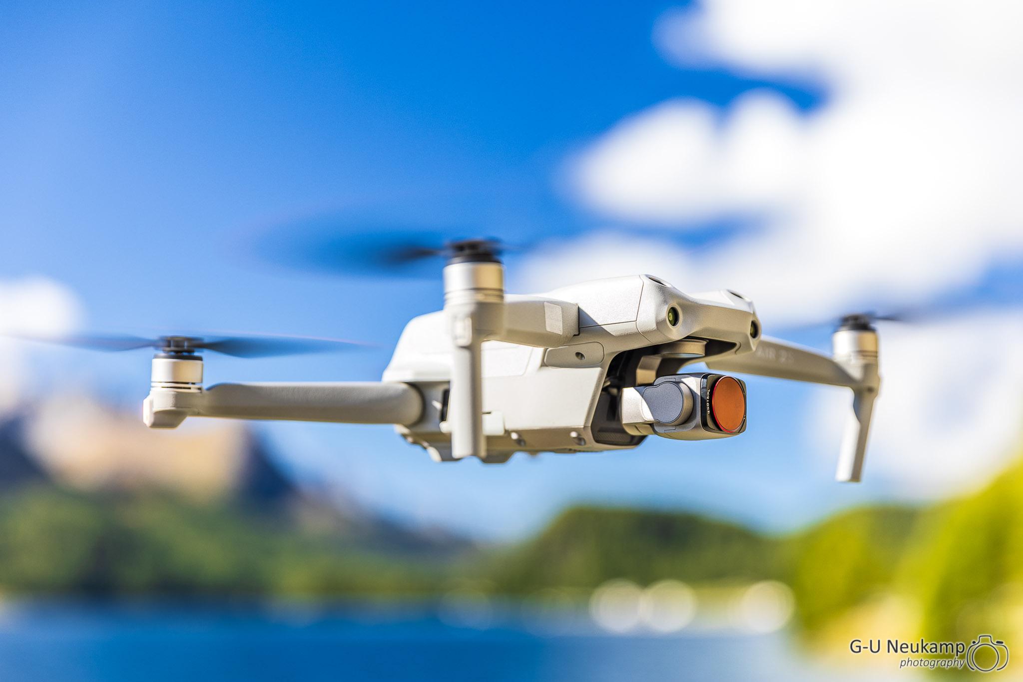 Read more about the article Fotografie mit der Drohne - Erste Erfahrungen mit der DJI Air2s