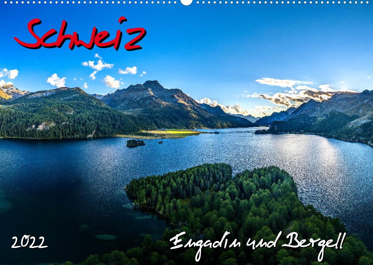 """Read more about the article Neuer Wandkalender """"Schweiz - Engadin und Bergell"""" veröffentlicht"""